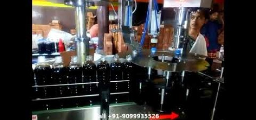 Soya Oil Bottle Filling Line