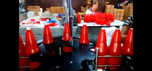 Tomato Ketchup filling line