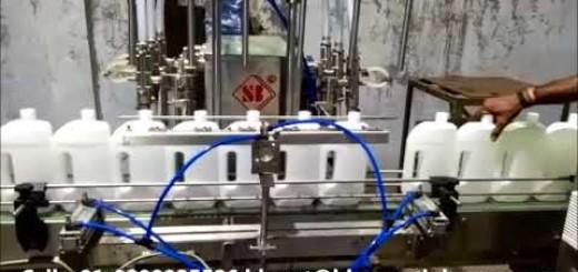 Automatic Phenyl filling machine, 6 head Phenol filling machine