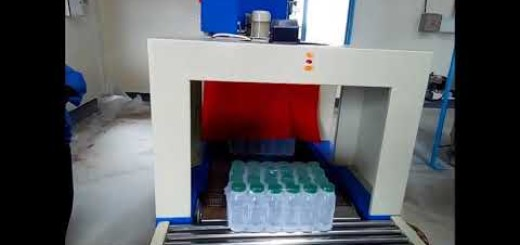 L Sealer Shrink Wrapping Machine for coconut water bottle