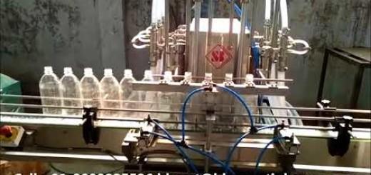 Six head phenyl filling machine – Automatic