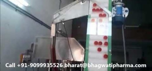 linear capping machine for glass ketchup bottle – without any change parts