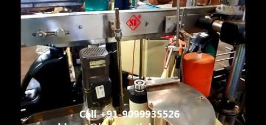 two head screw capping machine and two head sticker labeling machine