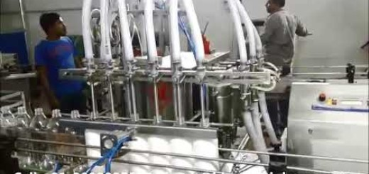 Phenyl Bottle Filling machine – Automatic Six head