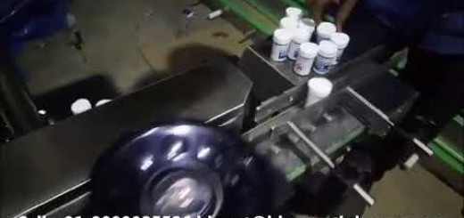 Vial Sticker Labeling Machine, Automatic HDPE Vial Labeling Machine