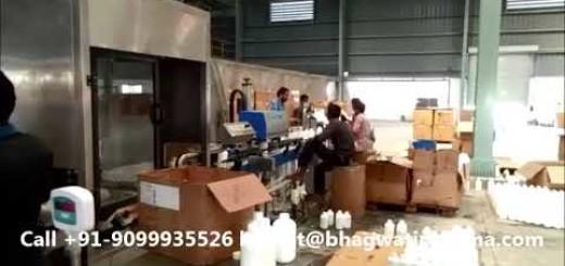 Agro Chemical Pesticide Bottle Liquid filling machine – Flowmatic Filler