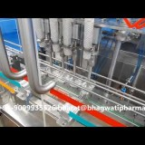 Four Head Linear Cup Filling Machine