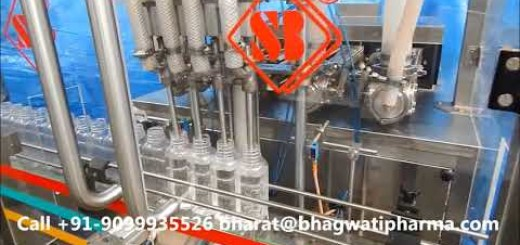 Hot Juice Filling Machine Fully Automatic